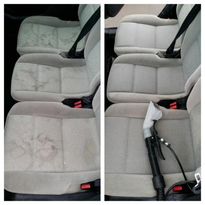 Seat cleaning and stain removal Swindon and Cheltenham