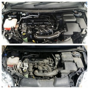 Engine bay cleaning and Mobile Valeting Swindon and Cheltenham